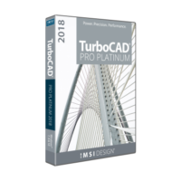 TurboCAD Platinum 2018
