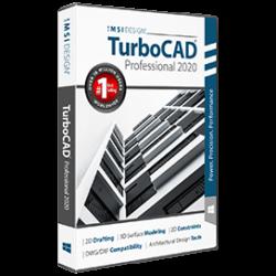 TurboCAD Platinum 2021 upgrade v2019 vagy előttiről