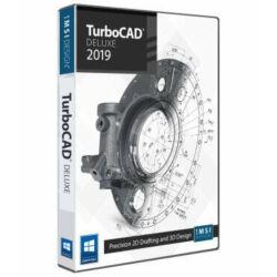 TurboCAD Deluxe 2019 upgrade  régebbi Deluxe verziókról